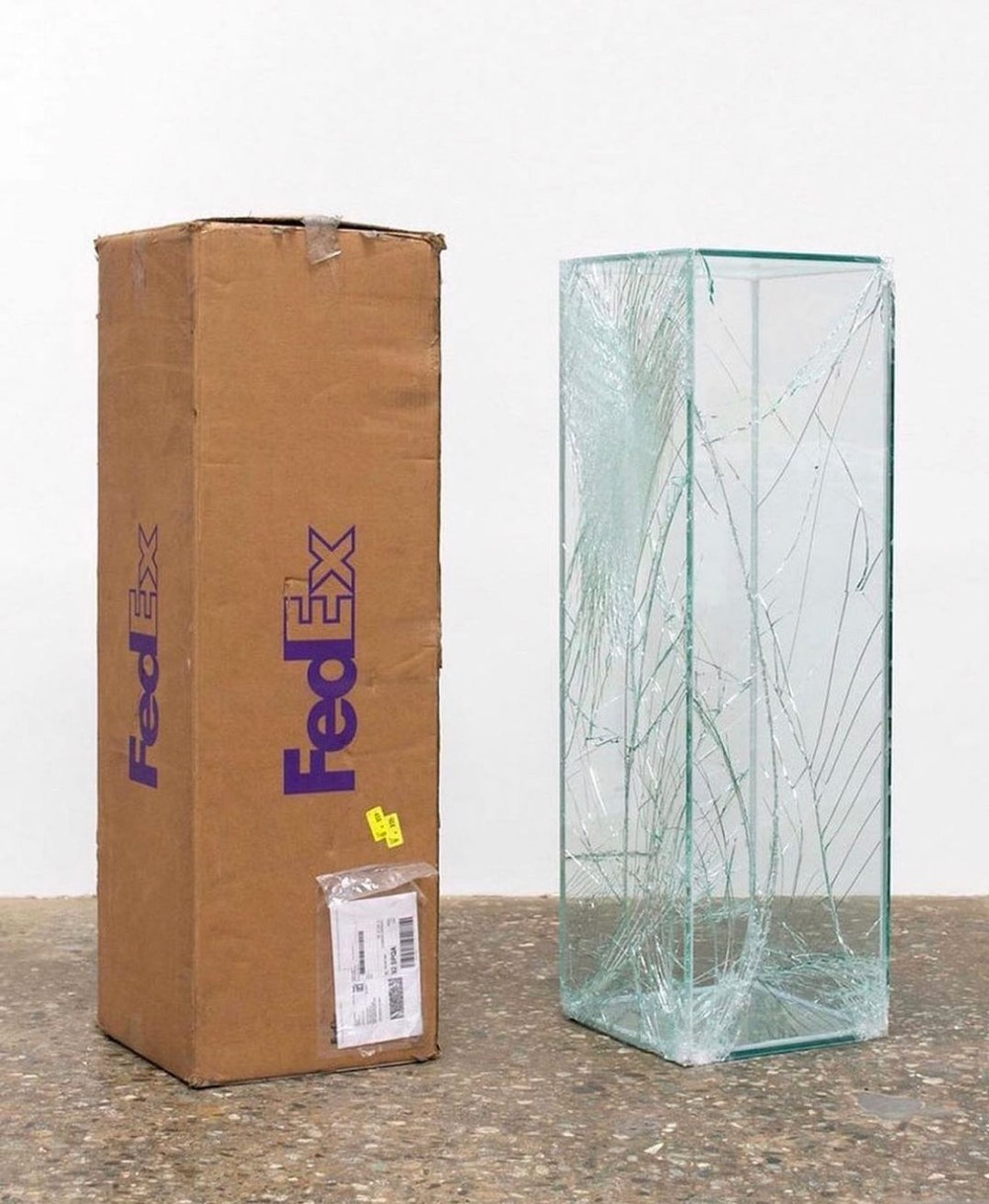 Walead Beshty's FedEx artworks